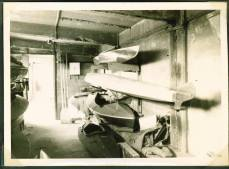 1950s boat storage