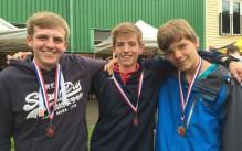 Callum, Kieron & Pascal